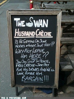 Husband creche