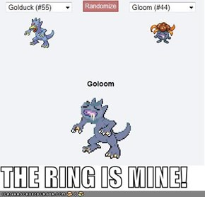 THE RING IS MINE!