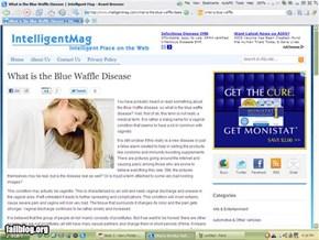 Blue Waffle Article Ad Fail