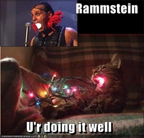 Rammstein  U'r doing it well