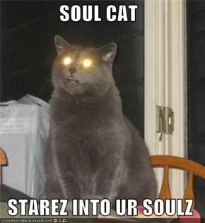 SOUL CAT   STAREZ INTO UR SOULZ