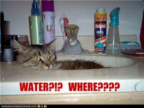WATER?!?