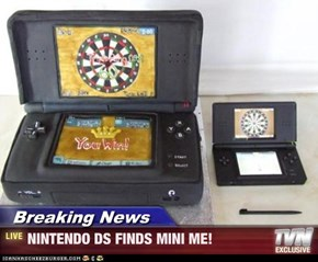 Breaking News - NINTENDO DS FINDS MINI ME!