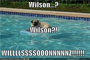 Wilson...?