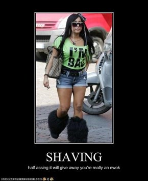 SHAVING SNOOKIES