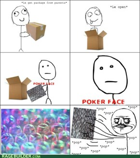 Just Send Me a Package of Bubble Wrap