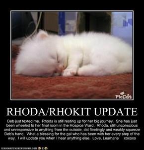RHODA/RHOKIT UPDATE