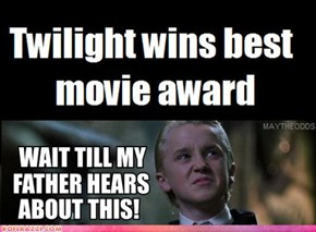 Twilight Sweeps MTV Movie Awards