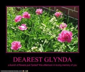 DEAREST GLYNDA