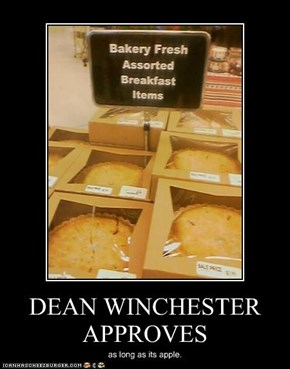 DEAN WINCHESTER APPROVES