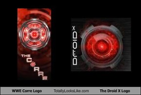 WWE Corre Logo Totally Looks Like The Droid X Logo