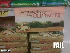 Dog Food FAIL