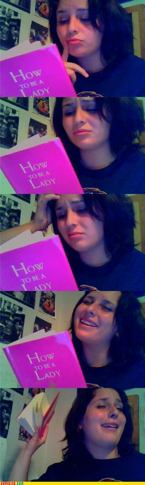My thoughts on the book that my mom just bought me: