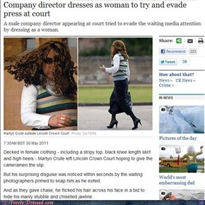 """Poor Fashion Coverage: Should Have Used Some Cover-Up For Your """"Manly Stubble and Chiselled Jawline"""""""