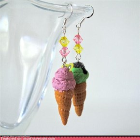 Ice Cream Earrings Could Be Yours!
