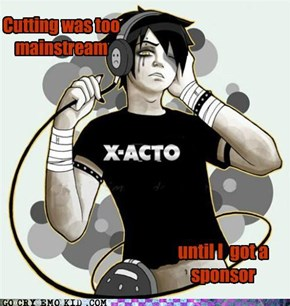 What...X-acto Knives Are Giving Out Sponsorships?