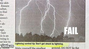 CLASSIC: Lightning Tip FAIL