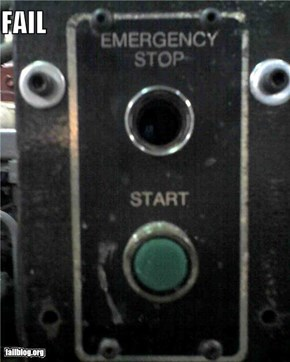 Emergency Button FAIL