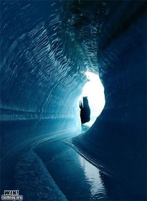 Mother Nature FTW: Ice Cave WIN