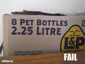 Pet Bottles FAIL
