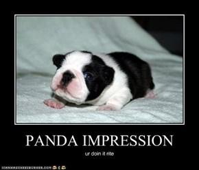 PANDA IMPRESSION