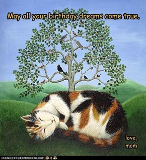 May all your birthday dreams come true.