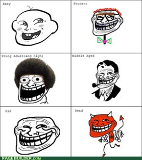 The Evolution of a Troll