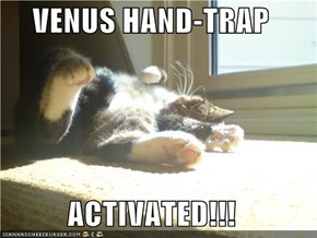 VENUS HAND-TRAP  ACTIVATED!!!