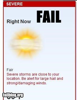 Weather FAIL