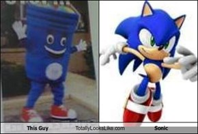 This Guy Totally Looks Like Sonic