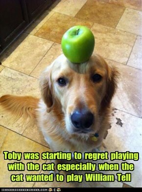 Toby  was  starting