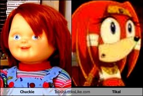 Chuckie Totally Looks Like Tikal