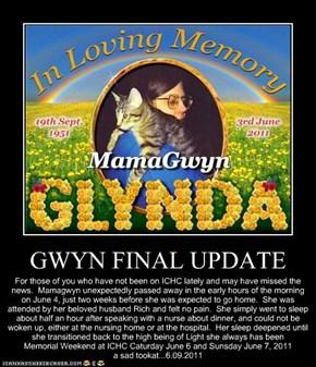 GWYN FINAL UPDATE