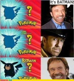 Chuck Norris Is Never Wrong. Ever.