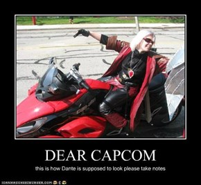 DEAR CAPCOM