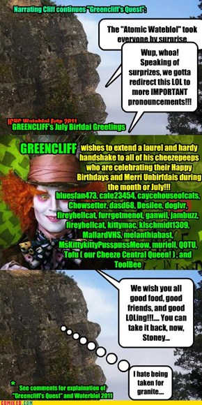 Greencliff's July Birthday Greetings