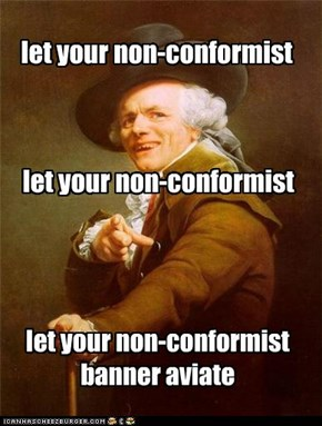 let your non-conformist