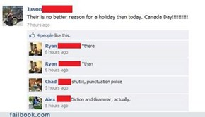 The Grammar Police Never Take a Holiday