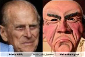 Prince Phillip Totally Looks Like Walter the Puppet
