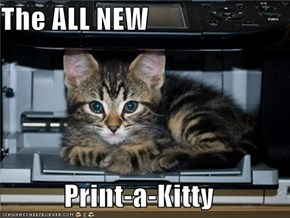 The ALL NEW  Print-a-Kitty