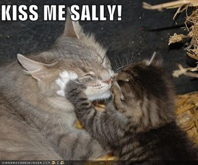 KISS ME SALLY!