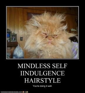 MINDLESS SELF IINDULGENCE HAIRSTYLE