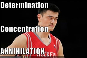 Determination  Concentration  ANNIHILATION