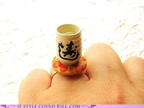 Ring of the Day: Green Tea