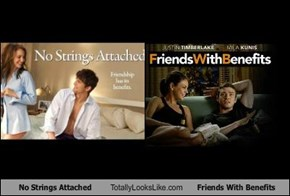 No Strings Attached Totally Looks Like Friends With Benefits