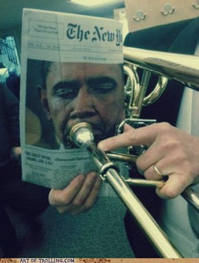 Classic: Trombama Plays a Sweet Tune