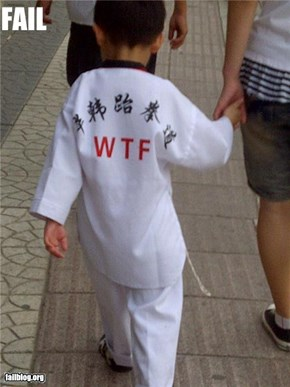 Karate Robe FAIL