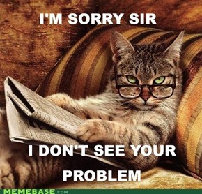 Smart-Ass Cat: Your Point Is...?