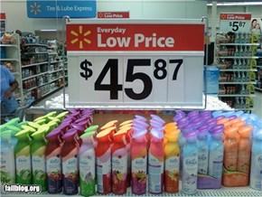 Price FAIL