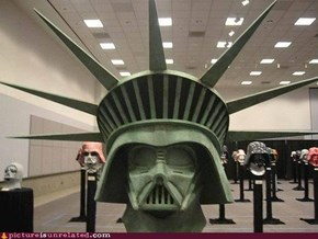 Statue of Darth Liberty